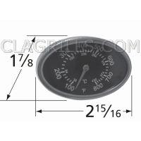 "Brinkmann Probe Mounted Heat Indicator Thermometer 2 15//16/"" x 1 5//8/"" New 22551"